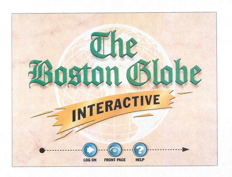 Boston Globe Interactive logo 1994