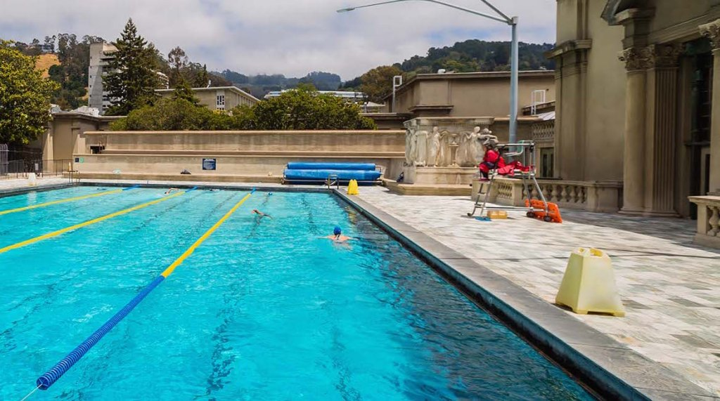 First person the best lap swim pools in the east bay berkeleyside for Swimming pools in the north east