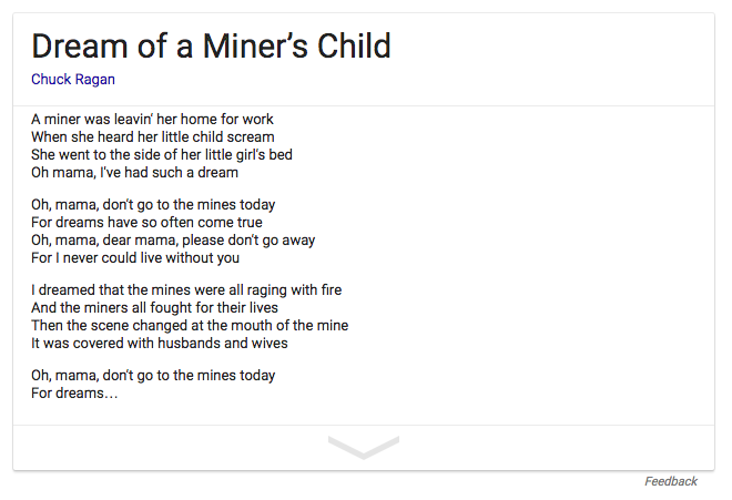 dream-of-a-miners-child-lyrics