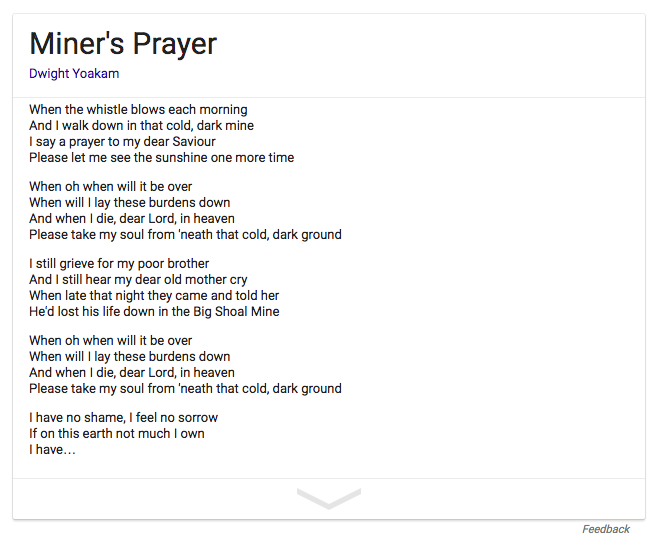 Miner's Prayer lyrics.png